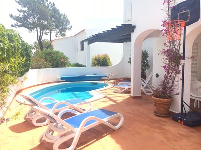 Photo for Ground floor apartment with heated plunge pool.