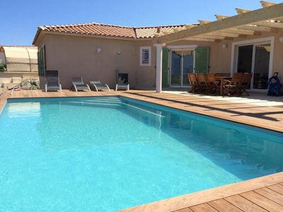 Photo for Beautiful villa with sea view and Ile Rousse