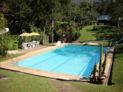 Photo for Beautiful house with 9. 000m2 of gardens 4 suites and near Golf - 06 rooms