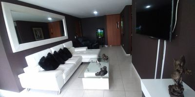Photo for MODERN 3 BEDROOM APARTMENT A/C, 5 BLOCKS FROM PARQUE LLERAS