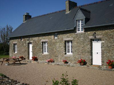 Photo for Stone holiday house 2,5 km from the sea
