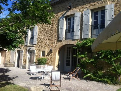Photo for Provencal farmhouse at the heart of a touristy region
