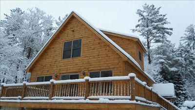Photo for Sunday River Chalet with 6 Person Hot Tub, Fireplace, and Wireless Internet