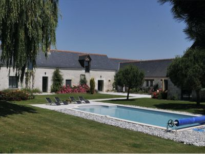 Photo for Louans: The Farm of the Sheath, idyllic setting, 2 bedrooms