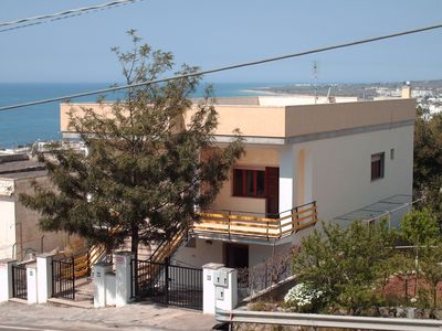 Photo for House detached villa with sea views, garden and car parking