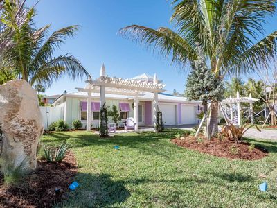 Luxury Beach Front Home!  Beautiful views, private heated pool with waterfall, porches on all levels
