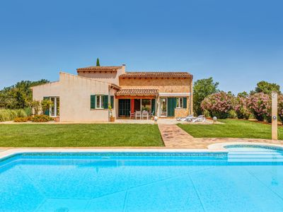 Photo for Air-Conditioned Finca with Pool, Wi-Fi, Garden & Terrace; Parking Available