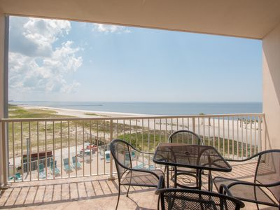 Photo for 2 Bed/Bath with Gulf View, Private Balcony, Washer/Dryer, and Resort Pool