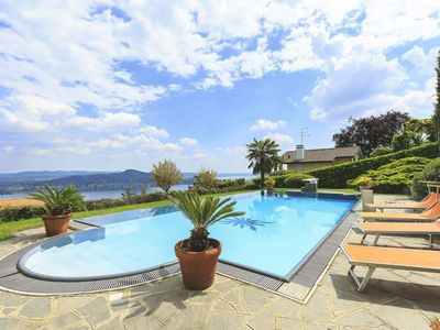 Photo for Villa Sophi is a nice villa for rent in Lake Maggiore with private pool lake view 4 bedroos sleeps 8
