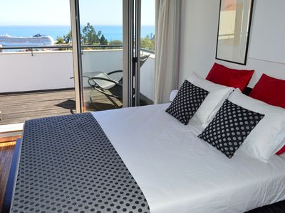 Photo for House T2 with excellent views, located in the historical center of Funchal.