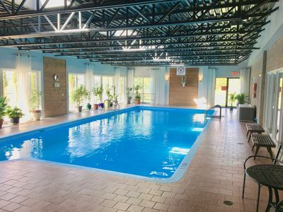 Photo for Beautiful Apartment Indoor Pool 5 mins from the ski station