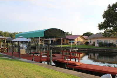 Another view of the dock.