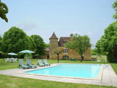 Photo for Stunning, rurally situated house with private swimming pool near Besse (3 km)