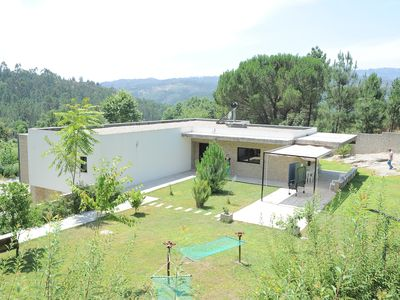 Photo for country villa with private pool, garden and barbecue.