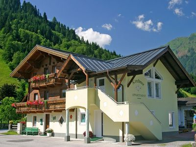 Photo for Nice, combined holiday accommodation in a quiet area of Hollersbach