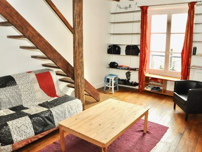 Photo for Charming apartment not far from Montmartre