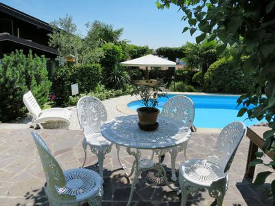 Photo for One bedroom Apartment, sleeps 4 in Anduins with Air Con and WiFi
