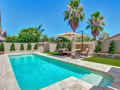 **PRIVATE RESORT**  3 Bdrm + Den With Bed, 2 Bth & Price Includes Heated Pool