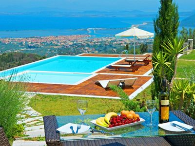 Photo for Luxury Villa   Private Pool  Jacuzzi   City and Sea View