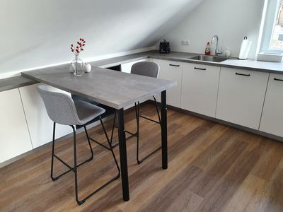 Photo for Holiday apartment / long-term rental in a quiet residential area, 48527 Nordhorn