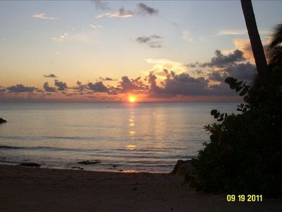 Photo for Cayman Islands Famed Seven Mile Beach Oceanfront Condo