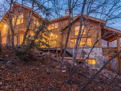Photo for Skydance - Private, Mountain Views, Wood fireplace, Vaulted Ceilings, Family