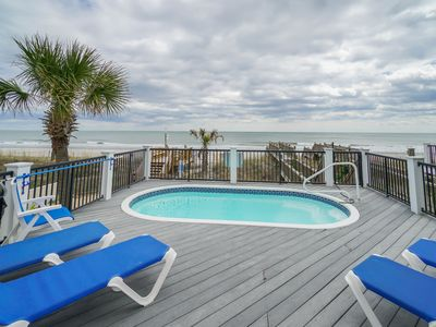 Photo for Nightly Stays Aug-Sept*FREE LINENS** Oceanfront, Pet Friendly, Private Pool