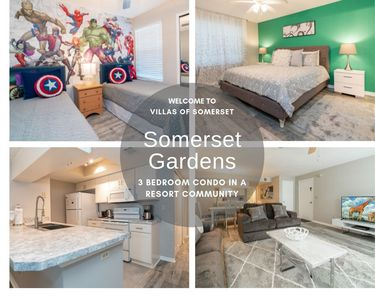 Photo for Completely Refurbished Sept 2019 Condo With Communal Facilities Close to Theme Parks