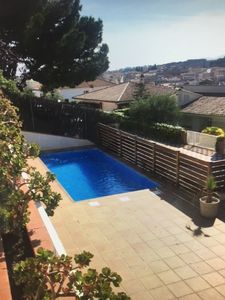Photo for Large villa with private pool in the center of Canet de Mar