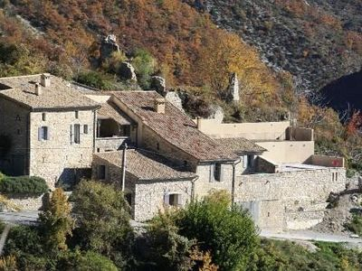 Photo for Old stone house near Vaison la Romaine and Nyons - Chaudebonne