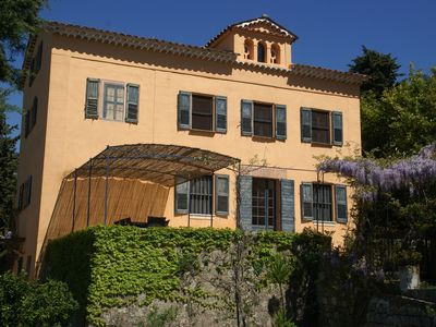 Photo for Stylish country house from 1789 on the edge of the perfume town of Grasse