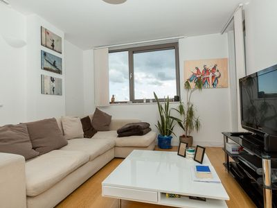 Photo for Centrally located spacious flat with amazing views
