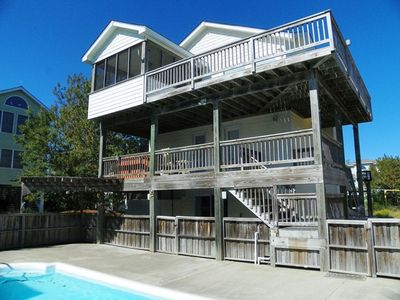 Photo for OCEANSIDE 5 Bedrooms, Pool and Tiki Bar, Hot Tub, Pool Table and Dog Friendly