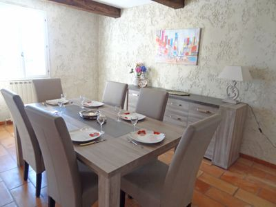 Photo for Vacation home Velusienne in Saint Saturnin d'Apt - 6 persons, 3 bedrooms
