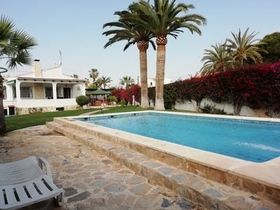 Photo for GREAT DETACHED VILLA FOR 4/ 6 PERSONS WITH A/C, PRIVATE POOL, INTERNET, SAT.T.V