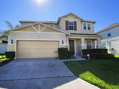 Photo for Home near Disney w/ WiFi, Pool, Gameroom, Resort Basketball & Tennis Courts