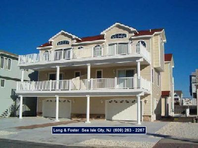 Photo for LOVELY home is in the beach block and has 5 bedrooms and 4 and 1/2 baths