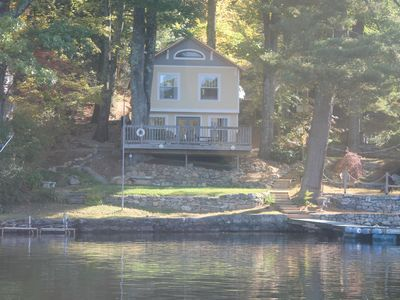 Photo for Winter or Summer, Very special,  Immaculate Highland Lake direct waterfront