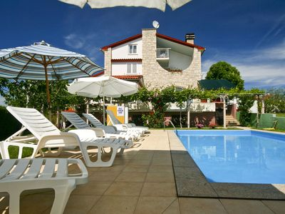 Photo for Apartment with large pool, WiFi, balcony