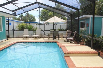 Relax by your private pool area