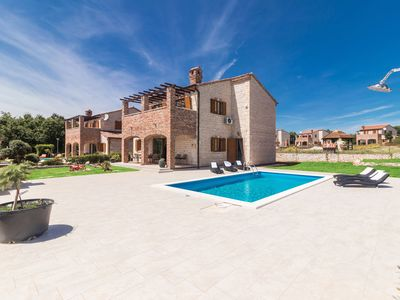 Photo for Family Villa Amelie with Pool, Garden, BBQ, Playground, Tennis court