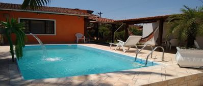 Photo for Beach house, condominium 24hr security, pool, barbecue, balconies,