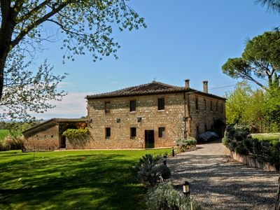 Photo for Villa Siena, built right on the famous Crete Senesi, with private pool