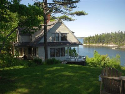 Photo for Beautiful, Oceanfront 4-Bdrm House Fabulous Views Five Islands