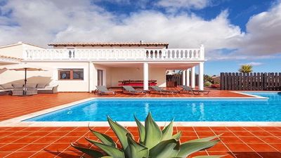 Photo for A beautiful & peaceful boutique style Villa, in the delightful village, Lajares