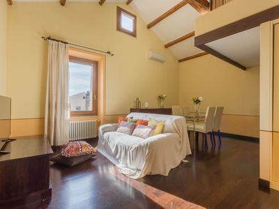 Photo for Central Apartment with Wi-Fi & Air Conditioning