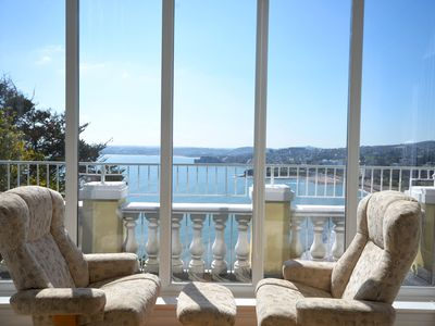 Photo for Premier one bed sea view apartment with balcony