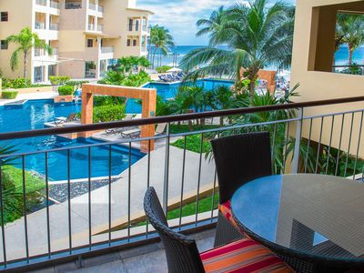 Photo for DISCOUNTED Rates ElFaro Reef 205-Ocean Front Condo Located on the Beach