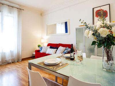 Photo for Nice apartment in the Eixample