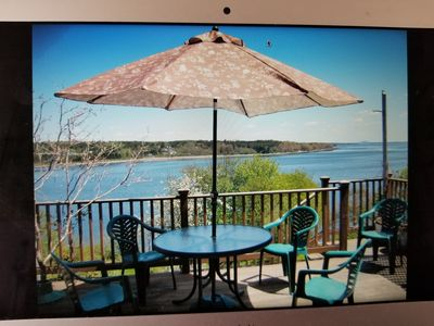 Photo for Shorefront house in Belfast, Maine